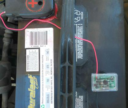 BLE Car Battery Monitor poster