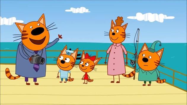 Три Кота Развивающие мультики для детей poster