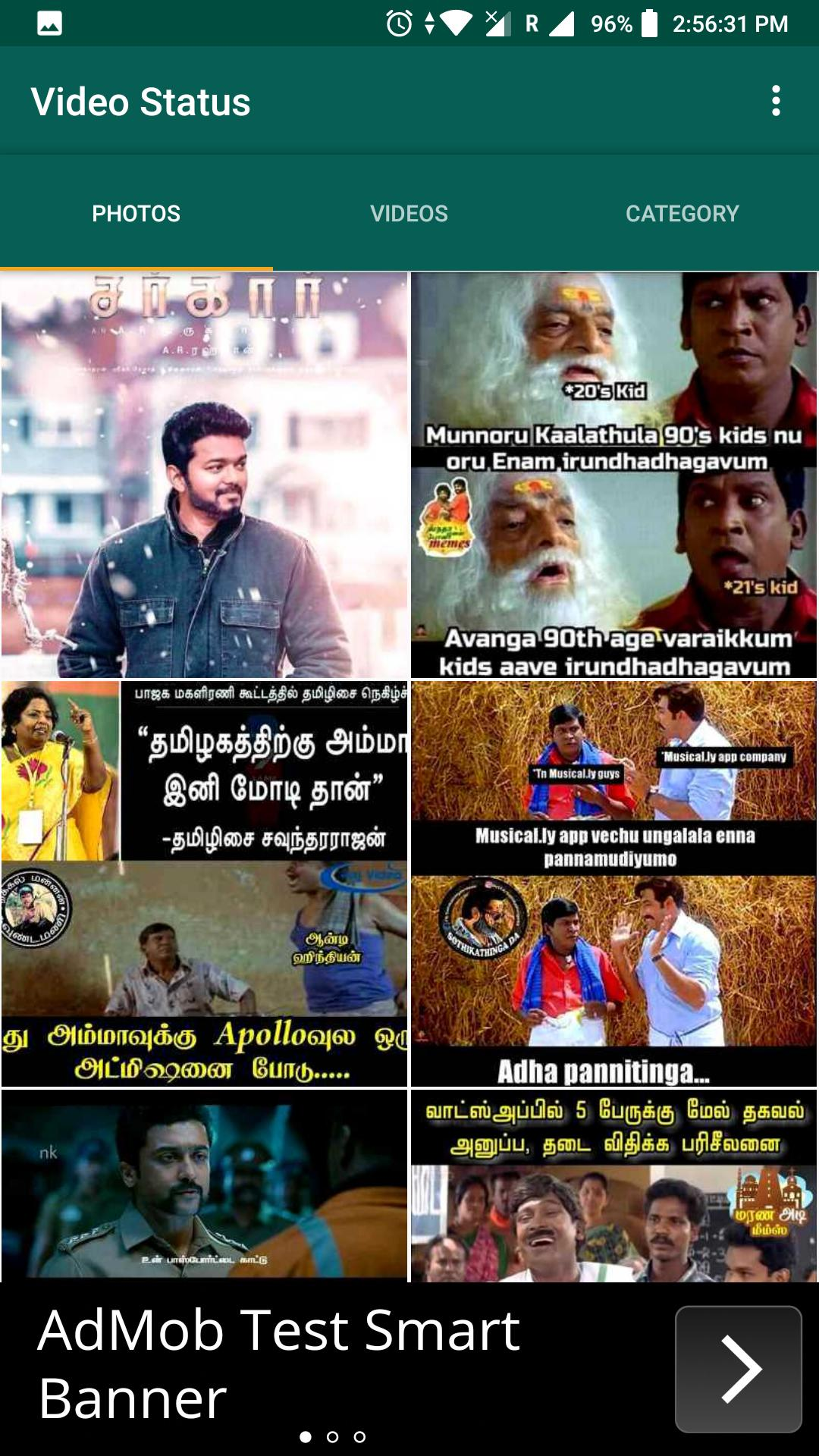 Video Songs Tamil Status Memes For Whatsapp For Android