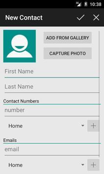 Contact Console screenshot 3