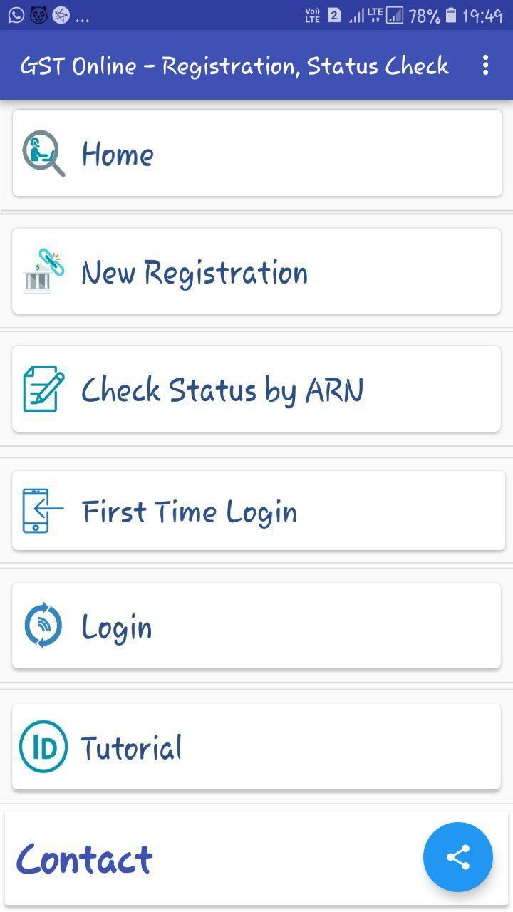 GST Registration App -GST Refund, Service & Status for