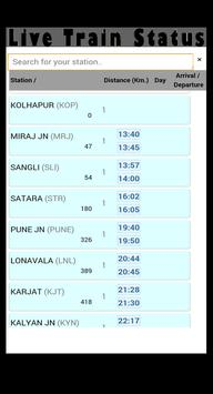 Live Status-Indian Railways apk screenshot