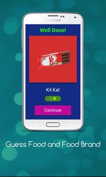 Food Quiz- Test Your Knowledge apk screenshot
