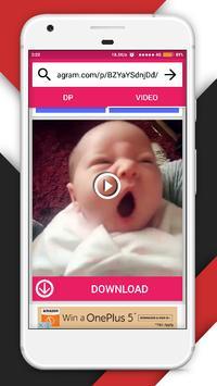 DP & Videos Downloader for Instagram apk screenshot