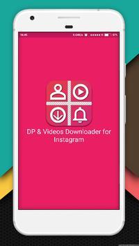 DP & Videos Downloader for Instagram poster