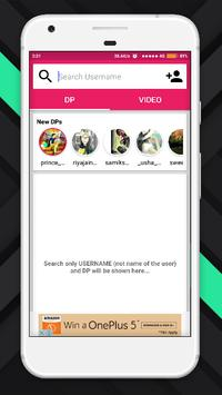 DP & Videos Downloader screenshot 1