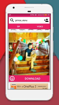 DP & Videos Downloader screenshot 2
