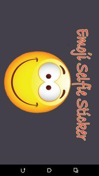 Emoji Selfie Sticker maker poster