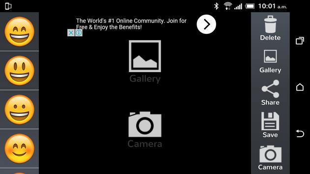 Emoji Selfie Sticker maker apk screenshot