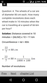 CBSE Class 10th Maths Notes : All Chapter Solution screenshot 5