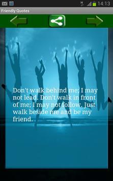 Friendly Quotes apk screenshot