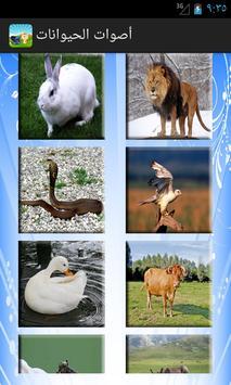 أصوات الحيوانات screenshot 1
