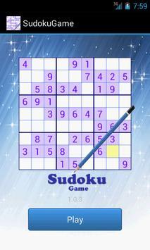 SudokuGame poster
