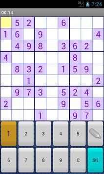 SudokuGame apk screenshot