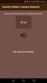 Camify-Hidden Camera Detector poster