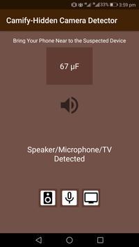 Camify-Hidden Camera Detector screenshot 2