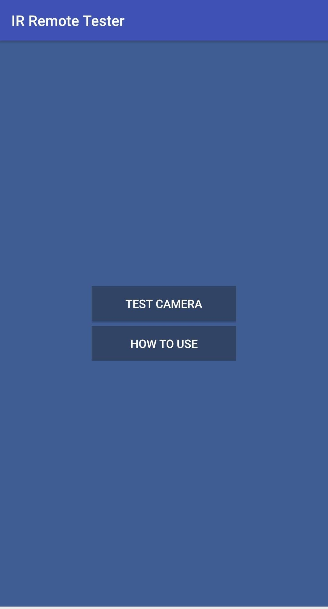 IR Remote Test - IR Blaster Check for Android - APK Download