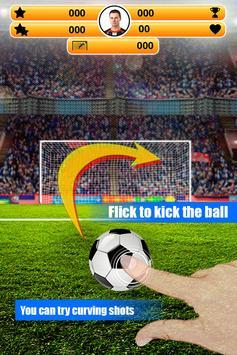 Flick Goal Hero 2017 screenshot 4