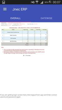 JNEC ERP screenshot 1