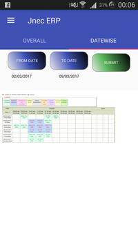 JNEC ERP screenshot 2