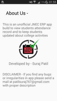 JNEC ERP screenshot 5