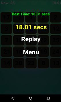Number Tap Challenge apk screenshot