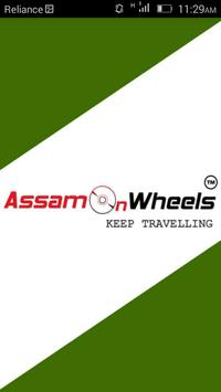 Assam On wheels Taxi Owner App poster