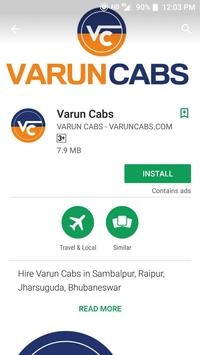 VARUN CABS - Taxi in Sambalpur, Raipur, Jharsuguda poster
