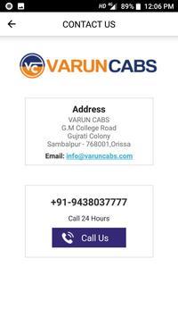 VARUN CABS - Taxi in Sambalpur, Raipur, Jharsuguda screenshot 1