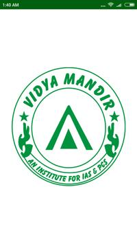 Vidya Mandir IAS poster