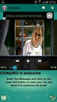 GiftMyMix - Mix&Gift Videos apk screenshot