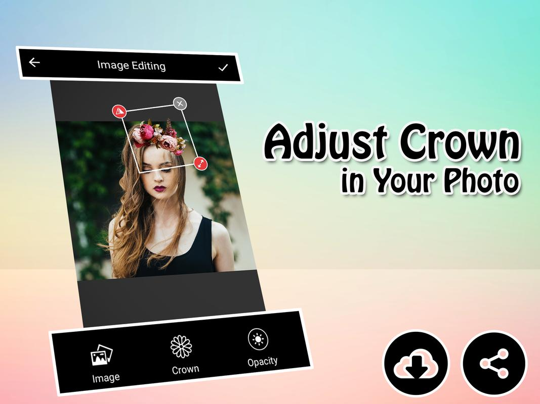 Flower crown photo editor free for android apk download flower crown photo editor izmirmasajfo