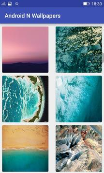 Wallpapers for Android N apk screenshot
