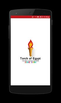 Torch of Egypt poster