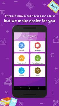 all physics formula Cartaz