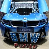 Puzzle: BMW Car racing icon
