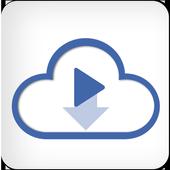Video downloader For Facebook Zeichen