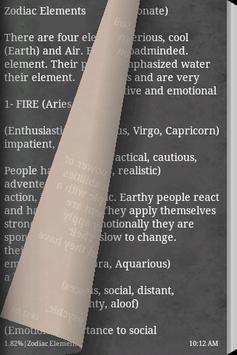 Zodiac Signs Book screenshot 3