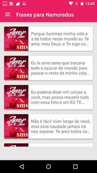 Mensagens de SMS-Amor screenshot 7