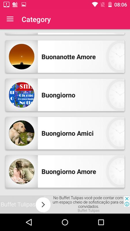 Messaggi E SMS Buongiorno A Tarda Notte Screenshot 3