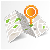 my current location gps icon