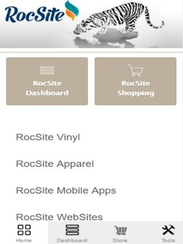 RocSite apk screenshot