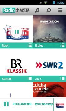 Radiotheque screenshot 1