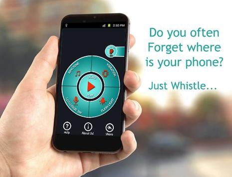 Whistle Android Finder Free - Phone finder poster