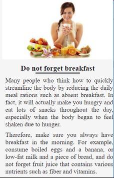 Natural Weight Loss apk screenshot