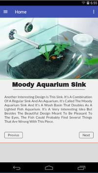 Aquarium Design Ideas poster