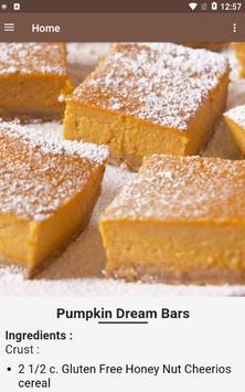 20+ Easy Pumpkin Bars Recipes screenshot 2