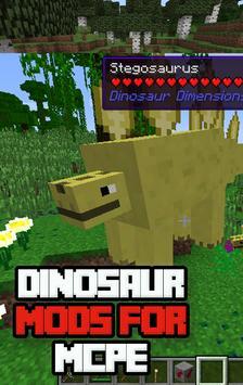 Final Dinosaur Mods for Mcpe screenshot 1