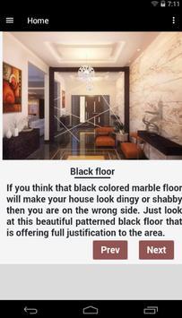 Floor Marble Design poster
