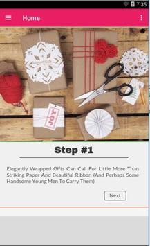 Gift Wrapping Decorating Ideas apk screenshot